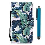 Недорогие Чехлы и кейсы для Galaxy S9-Кейс для Назначение SSamsung Galaxy S9 S9 Plus Бумажник для карт Кошелек со стендом Флип Магнитный Чехол дерево Твердый Кожа PU для S9