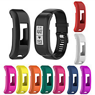 Недорогие Аксессуары для смарт-часов-Ремешок для часов для Vivosmart HR Garmin Современная застежка силиконовый Повязка на запястье
