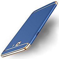 abordables Galaxy A5(2017) Carcasas / Fundas-Funda Para Samsung Galaxy A8 2018 A8 Plus 2018 Cromado Congelada Funda Trasera Un Color Dura ordenador personal para A3 (2017) A5 (2017)