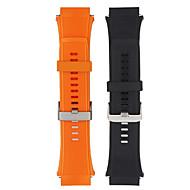 Недорогие Аксессуары для смарт-часов-Ремешок для часов для Huawei Watch 2 Huawei Спортивный ремешок силиконовый Повязка на запястье