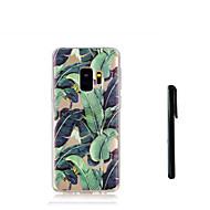 Недорогие Чехлы и кейсы для Galaxy S7 Edge-Кейс для Назначение SSamsung Galaxy S9 S9 Plus Полупрозрачный Кейс на заднюю панель дерево Мягкий ТПУ для S9 Plus S9 S8 Plus S8 S7 edge S7