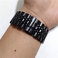 halpa Kellonrannekkeet Samsung-Watch Band varten Gear S3 Frontier Gear S3 Classic LTE Samsung Galaxy Urheiluhihna Ruostumaton teräs Rannehihna