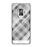 Недорогие Чехлы и кейсы для Galaxy S9 Plus-Кейс для Назначение SSamsung Galaxy S9 S9 Plus Покрытие Кейс на заднюю панель Геометрический рисунок Мягкий ТПУ для S9 Plus S9