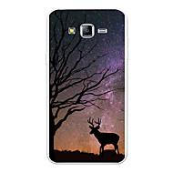 voordelige Galaxy J3 Hoesjes / covers-hoesje Voor Samsung Galaxy J7 (2017) J7 (2016) Patroon Achterkant Landschap Cartoon dier Zacht TPU voor J7 (2017) J7 (2016) J7 J5 (2017)