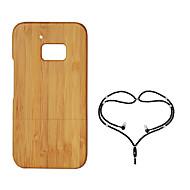 billige -Etui Til HTC HTC 10 Støtsikker Bakdeksel Trefiber Hard Bambus til HTC 10
