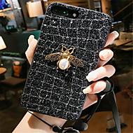 Недорогие Кейсы для iPhone 8 Plus-Кейс для Назначение Apple iPhone X iPhone 7 Plus Стразы С узором Кейс на заднюю панель Мультипликация Твердый ПК для iPhone X iPhone 8
