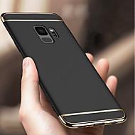 Недорогие Чехлы и кейсы для Galaxy S8 Plus-Кейс для Назначение SSamsung Galaxy S9 S9 Plus Защита от удара Покрытие Кейс на заднюю панель Однотонный Твердый ПК для S9 Plus S9 S8