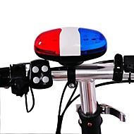 自転車用ベル アラーム 耐久 抗衝撃 バイク 固定ギア バイク プラスチック ブルー