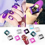 abordables Maquillaje y manicura-10pcs Cristal / Elegante Joyería de uñas Nail Art Forms