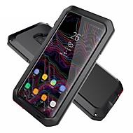 Недорогие Чехлы и кейсы для Galaxy S6 Edge Plus-Кейс для Назначение SSamsung Galaxy S9 Plus / S9 Защита от удара / Защита от влаги / броня Чехол броня Твердый Металл для S9 / S9 Plus / S8 Plus