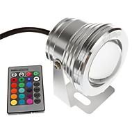 お買い得  -YouOKLight 1個 10W 水中ライト リモコン 装飾用 RGB 12V スイミングプール