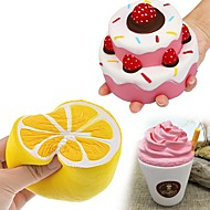 お買い得  -MINGYUAN コーヒーカップ / ケーキ / カフェ 変形可能な / オフィスデスクのおもちゃ / 減圧玩具 フリーサイズ 成人 / ティーンエイジャー ギフト 3pcs