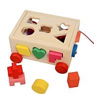 preiswerte Spielzeuge & Spiele-Holzpuzzle / Logik & Puzzlespielsachen Niedlich Hölzern 16pcs Vorschule Geschenk