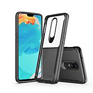preiswerte Handyhüllen-Hülle Für OnePlus OnePlus 6 / OnePlus 5T Cool Rückseite Solide Hart PC für OnePlus 6 / OnePlus 5T