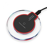 cheap iPod Accessories-Wireless Charger USB Charger Universal with Cable / Wireless Charger / Qi Not Supported 2 A DC 5V iPhone X / iPhone 8 Plus / S9