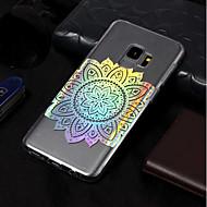 Недорогие Чехлы и кейсы для Galaxy S9-Кейс для Назначение SSamsung Galaxy S9 / S9 Plus Покрытие / С узором Кейс на заднюю панель Мандала Мягкий ТПУ для S9 Plus / S9 / S8 Plus