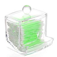 abordables Almacenamiento de escritorio-El plastico Rectángulo Nuevo diseño Casa Organización, 1pc Cajas de Almacenamiento / Almacenamiento de Maquillaje / Organizadores de