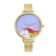abordables Relojes de Moda-Mujer Chino Cronógrafo Acero Inoxidable Banda Moda Plata / Dorado / Oro Rosa