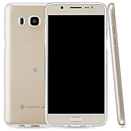 abordables Galaxy J5(2016) Carcasas / Fundas-Funda Para Samsung Galaxy J5 (2016) Transparente Funda Trasera Un Color Suave TPU para J5 (2016)