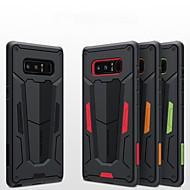Недорогие Чехлы и кейсы для Galaxy Note-Кейс для Назначение SSamsung Galaxy Note 8 Защита от удара / Рельефный Кейс на заднюю панель броня Твердый ПК для Note 8