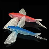 お買い得  釣り用アクセサリー-1 pcs ソフトベイト Shad プラスチック 海釣り / フライフィッシング / ベイトキャスティング / 穴釣り / スピニング / ジギング / 川釣り / 鯉釣り