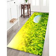 abordables Alfombras y moquetas-Felpudos / Las alfombras de área Deportes y Exterior / Casual Franela de Algodón, Rectángulo Calidad superior Alfombra / Antideslizante