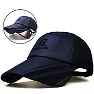abordables Sombreros, Capas y Bandanas-Casquillo Verano Extendido / Resistentes a los rayos UV / Transpirabilidad Senderismo / Pesca / Viaje Unisex Poliéster / Algodón Un Color