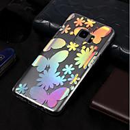 Недорогие Чехлы и кейсы для Galaxy S9-Кейс для Назначение SSamsung Galaxy S9 / S9 Plus IMD / С узором Кейс на заднюю панель Бабочка Мягкий ТПУ для S9 Plus / S9 / S8 Plus