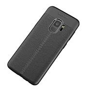 Недорогие Чехлы и кейсы для Galaxy S9 Plus-Кейс для Назначение SSamsung Galaxy S9 S9 Plus Рельефный Кейс на заднюю панель Однотонный Мягкий ТПУ для S9 Plus S9 S8 Plus S8