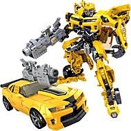 billige Fritidshobbyer-Lekebiler Bil Robot transform Plastskall Gutt Jente Leketøy Gave 1 pcs