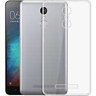 preiswerte Handyhüllen-Hülle Für Xiaomi Mi Note 3 Transparent Rückseite Solide Weich TPU für Xiaomi Redmi Note 3