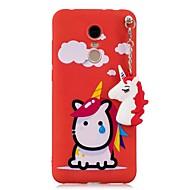 olcso Mobiltelefon tokok-Case Kompatibilitás Xiaomi Redmi 5 Plus Redmi 5A Minta DIY Fekete tok Egyszarvú Puha TPU mert Xiaomi Redmi Note 5 Pro Xiaomi Redmi Note