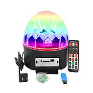 abordables Luces LED Para Escenarios-1 juego 16W 9 LED Control remoto Luces LED Para Escenarios RGB AC 100-240V