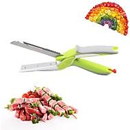 お買い得  キッチン用小物-キッチンツール ステンレス鋼 多機能 カッター / はさみ 野菜のための / サラダ 1個