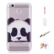 preiswerte Handyhüllen-Hülle Für Xiaomi Redmi 4X Muster Rückseite Panda Weich TPU für Xiaomi Redmi 4X