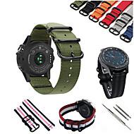 Недорогие Часы для Samsung-Ремешок для часов для Gear S3 Frontier / Gear S3 Classic Samsung Galaxy Спортивный ремешок Нейлон Повязка на запястье