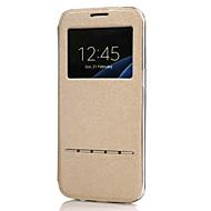 お買い得  携帯電話ケース-ケース 用途 Huawei P10 Lite / P10 スタンド付き / ウィンドウ付き / フリップ フルボディーケース ソリッド ハード PUレザー のために P10 Plus / P10 Lite / P10