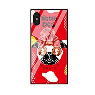Недорогие Кейсы для iPhone 8 Plus-Кейс для Назначение Apple iPhone X / iPhone 8 С узором Кейс на заднюю панель С собакой Твердый Акрил для iPhone X / iPhone 8 Pluss /