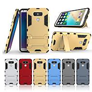 お買い得  携帯電話ケース-ケース 用途 LG G6 スタンド付き バックカバー ソリッド ハード PC のために LG G6