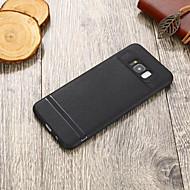 Недорогие Чехлы и кейсы для Galaxy S8-Кейс для Назначение SSamsung Galaxy S8 Plus / S8 Ультратонкий Кейс на заднюю панель Однотонный Мягкий ТПУ для S8 Plus / S8