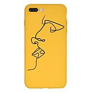 Недорогие Кейсы для iPhone 8-Кейс для Назначение Apple iPhone X / iPhone 8 Plus С узором Кейс на заднюю панель Мультипликация Мягкий ТПУ для iPhone X / iPhone 8 Pluss / iPhone 8