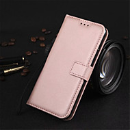 cheap -Case For Apple iPhone X / iPhone 8 Wallet / with Stand / Flip Full Body Cases Solid Colored Hard PU Leather for iPhone X / iPhone 8 Plus / iPhone 8