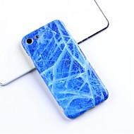 お買い得  -ケース 用途 Apple iPhone X / iPhone 6 パターン バックカバー マーブル ソフト TPU のために iPhone X / iPhone 8 Plus / iPhone 8