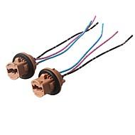 Недорогие Выключатели-ziqiao 2 шт. h7 фара лампа розетка керамическая лампа базовый разъем для подключения автомобиля - цвет случайный