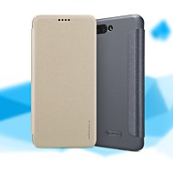 お買い得  携帯電話ケース-ケース 用途 Huawei Honor 10 フリップ / つや消し フルボディーケース ソリッド ハード PUレザー のために Huawei Honor 10