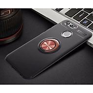 お買い得  携帯電話ケース-ケース 用途 Huawei Nova 2 バンカーリング / 超薄型 バックカバー ソリッド ソフト TPU のために Nova 2