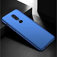 preiswerte Handyhüllen-Hülle Für OnePlus OnePlus 6 / OnePlus 5T Ultra dünn / Mattiert Rückseite Solide Hart PC für OnePlus 6 / One Plus 5 / OnePlus 5T
