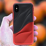 Недорогие Кейсы для iPhone 8-Кейс для Назначение Apple iPhone X / iPhone 8 Защита от удара Кейс на заднюю панель Полосы / волосы Мягкий ТПУ для iPhone X / iPhone 8 Pluss / iPhone 8