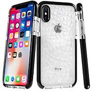 Недорогие Кейсы для iPhone 8 Plus-Кейс для Назначение Apple iPhone 8 / iPhone 8 Plus Ультратонкий / Прозрачный Кейс на заднюю панель Плитка / Геометрический рисунок Мягкий ТПУ для iPhone X / iPhone 8 Pluss / iPhone 8
