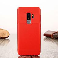 Недорогие Чехлы и кейсы для Galaxy S9-Кейс для Назначение SSamsung Galaxy S9 Plus / S9 Ультратонкий Кейс на заднюю панель Однотонный Мягкий ТПУ для S9 / S9 Plus